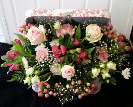 Floral Suitcase