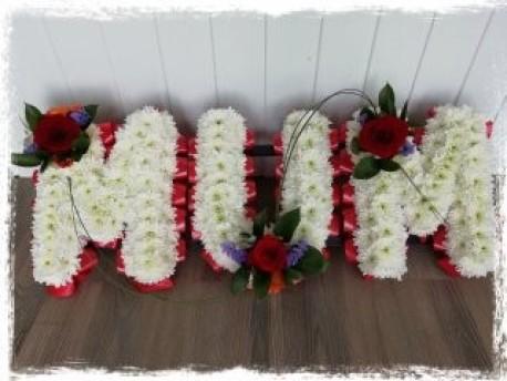 MUM - Red, White & Purple