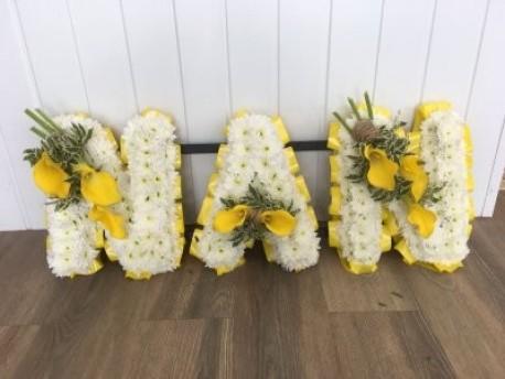 NAN - Yellow & White