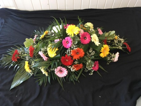 Casket Spray - Gerberas