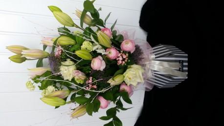 Floralbox - Pink, Purple, White & Sparkle