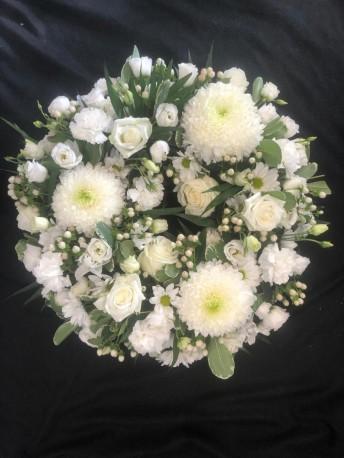 Wreath - All White
