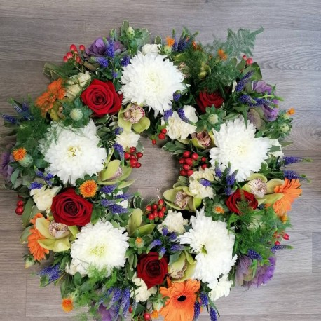 Wreath - Colourful