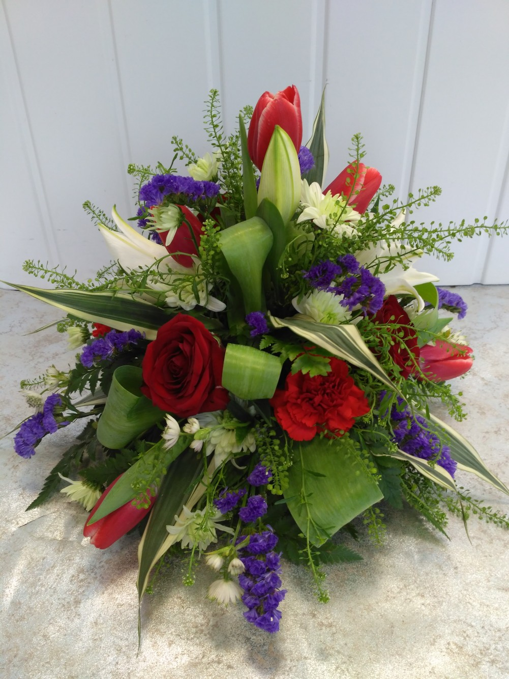 Posy - Red, Purple & White