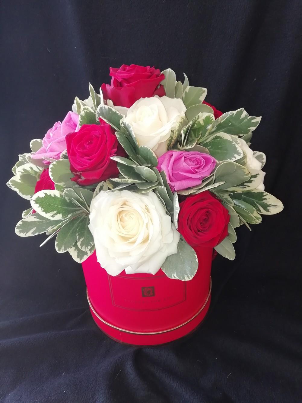 Roses Hatbox