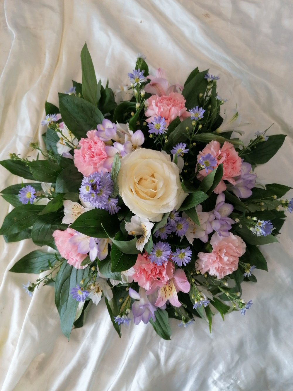 Posy Pad - Pink, Lilac & White