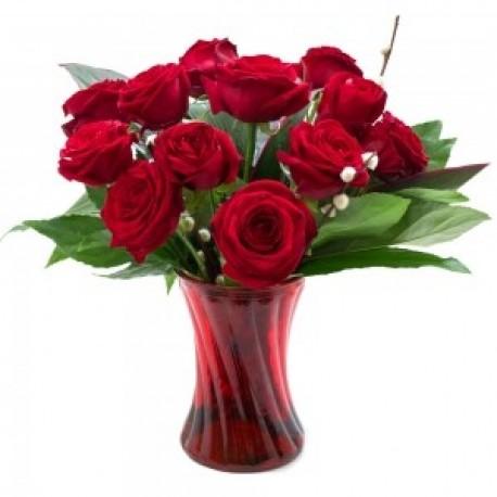 Finest Dozen Red Roses