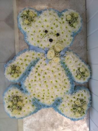 Blue Teddy Bear