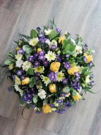 Posy Pad - Yellow & Purple