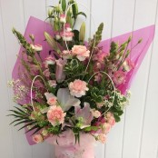 Pink Floral Box