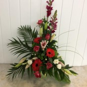 Hot tones arrangement