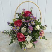 Pink & Purple Basket