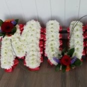 MUM - Red, White & Purple