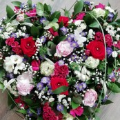 Heart - Red, Pinks, Purple & Whites