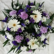Wreath - Purple, Lilac & White