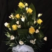 Single Ended Spray - Yellow & White