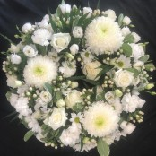 Wreath - All White