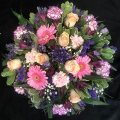 Posy Pad - Pink, Peach & Purple
