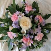Posy Pad - Pink, Lilac & White